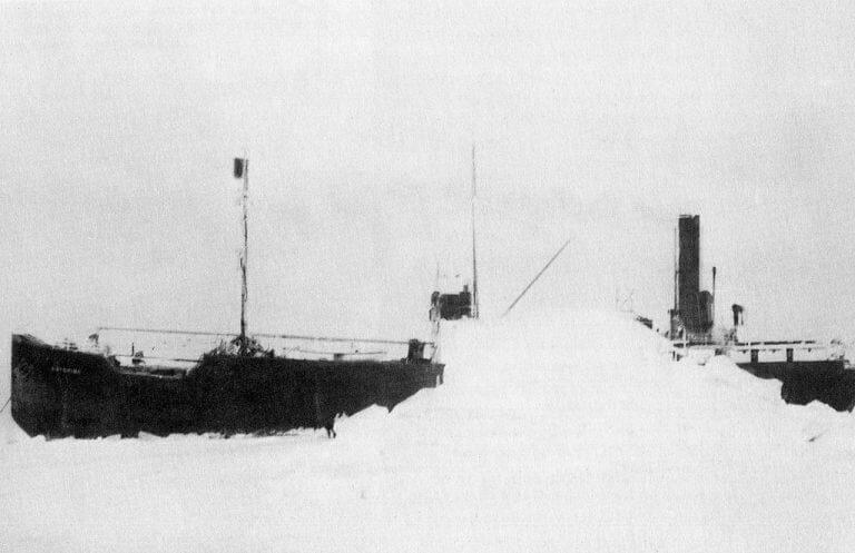 kaip laivas-vaiduoklis Baychimo 38 metus gyveno savarankiškai?